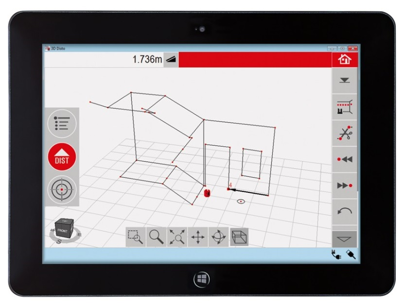 leica 3d disto windows tablet